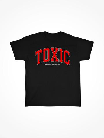 TOXIC COLLEGE • Black Tee
