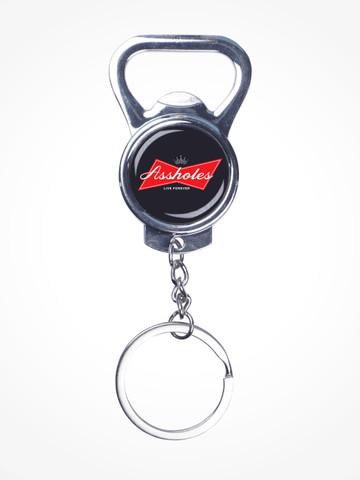 ALFWEISER • Silver Bottle Opener Keychain