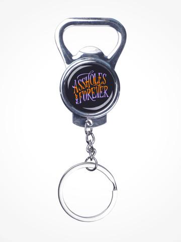 ALF SCRIPT • Silver Bottle Opener Keychain