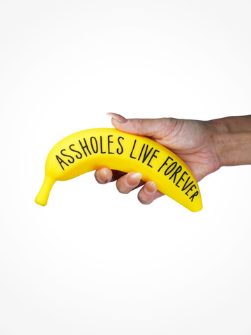 ASSHOLES LIVE FOREVER • Banana Dildo