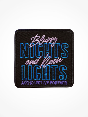 BLURRY NIGHTS AND NEON LIGHTS • Patch