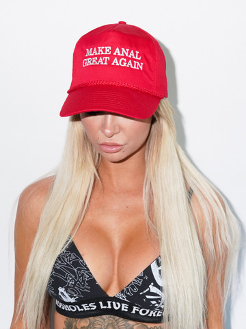 MAKE ANAL GREAT AGAIN • RED Trucker Hat