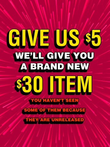 BRAND NEW $30 ITEM • $5 Mystery Box