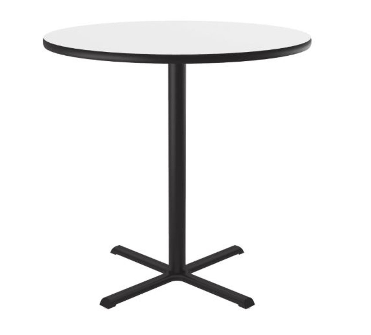 "Correll Markerboard-Dry Erase Top Cafe and Breakroom 48"" Round Tables"