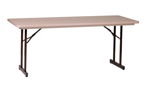 Correll R3072TL Blow Molded Plastic Banquet Correll Folding Table