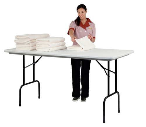 Correll RS3072 Anti Microbial Counter Height Folding Table