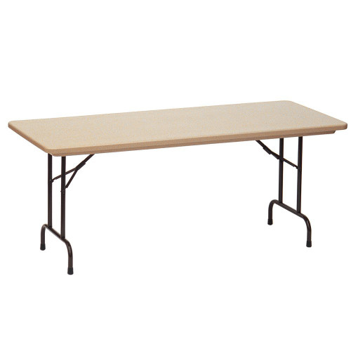 Correll RX3060 Gray Tamper Resistant Correctional Facility Folding Table