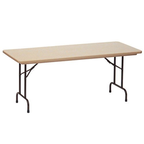 Correll RX3072 Gray Granite Tamper Resistant Correctional Facility Folding Table