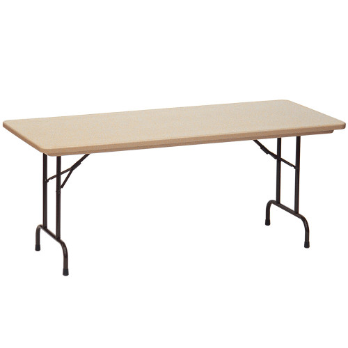 Correll RX3096 Gray Granite Tamper Resistant Correctional Facility Folding Table