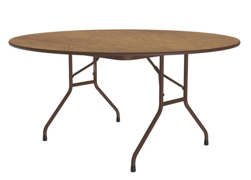Correll CF60MR Heavy Duty Round Top Folding Table