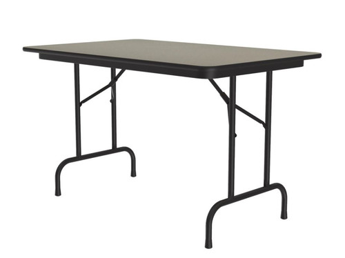 Correll CF3048PX Folding Table - 3/4 Inch Core - High-Pressure Top - 30x48 inch