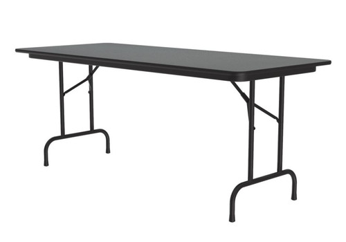 Correll CF3072PX Folding Table - 3/4 Inch Core - High-Pressure Top - 30x72 inch