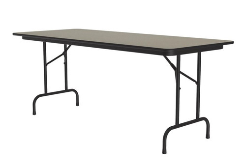 Correll CF3096PX Folding Table - 3/4 Inch Core - High-Pressure Top - 30x96 inch