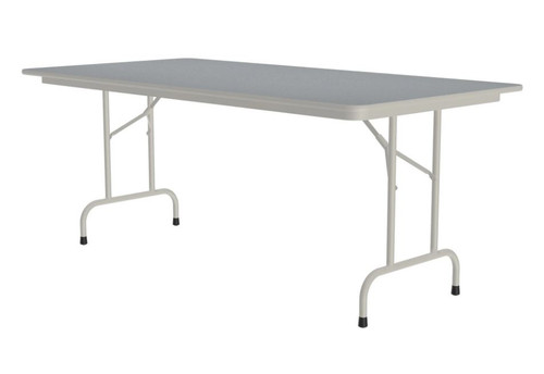 Correll CF3672PX Folding Table - 3/4 Inch Core - High-Pressure Top - 36x72 inch