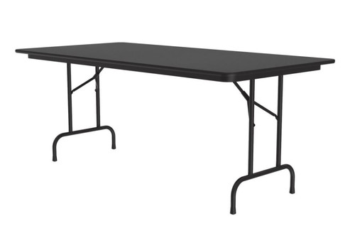 Correll CF3696PX Folding Table - 3/4 Inch Core - High-Pressure Top - 36x96 inch