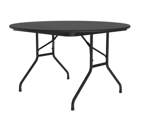 """Correll CF48PX Folding Table - 3/4 Inch Core - High-Pressure Top - 48"""" Round"""