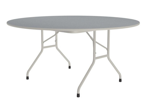 """Correll CF60PX Folding Table - 3/4 Inch Core - High-Pressure Top - 60"""" Round"""