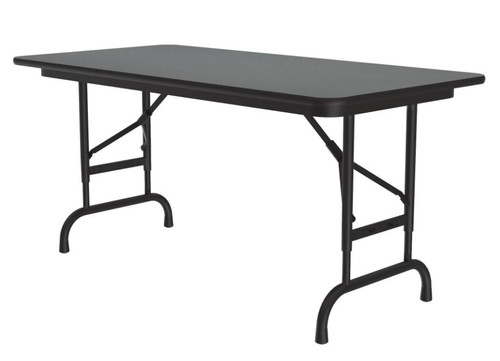 Correll CFA2448PX Adjustable High Pressure Top Folding Table 24 x 48