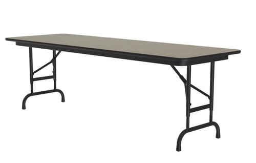 Correll CFA2460PX Adjustable High Pressure Top Folding Table 24 x 60