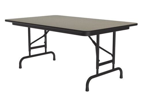 Correll CFA3048PX Adjustable High Pressure Top Folding Table 30 x 48