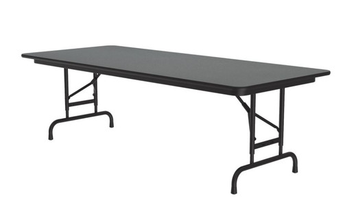 Correll CFA3060PX Adjustable High Pressure Top Folding Table 30 x 60