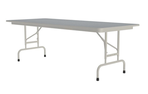 Correll CFA3072PX Adjustable High Pressure Top Folding Table 30 x 72