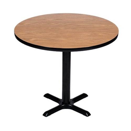 Correll Bxt24R-35 Cafe and Breakroom Tables - Round - Red