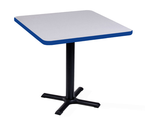 Correll Bxt30S-36 Cafe and Breakroom Tables - Square - White