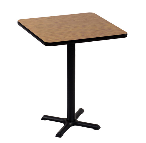 "Correll BXB30S Bar Stool-Standing Height High Pressure Cafe and Breakroom Table - 30"" Square"