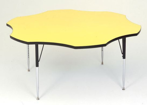 """High Pressure Top Flower Activity Tables  60"""" - A60-FLR"""
