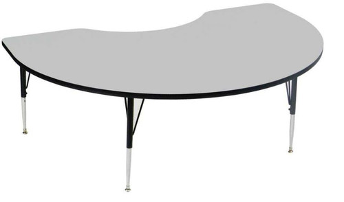 EconoLine Melamine Top Activity Tables 48x72  Kidney