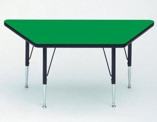High Pressure Top  Trapezoid Activity Tables  30x60