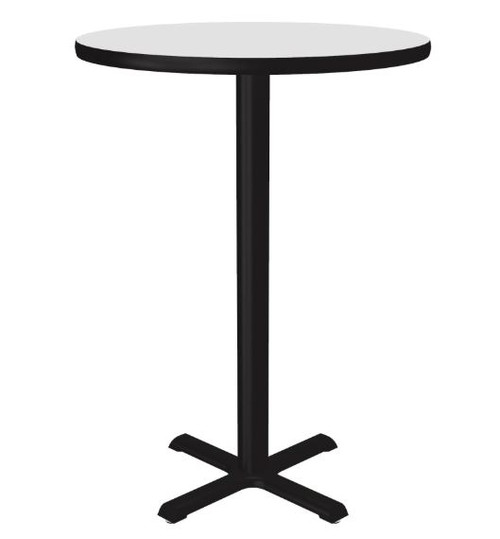 "Correll Markerboard-Dry Erase Top Cafe and Breakroom 36"" Round Tables (BXB36DER)"