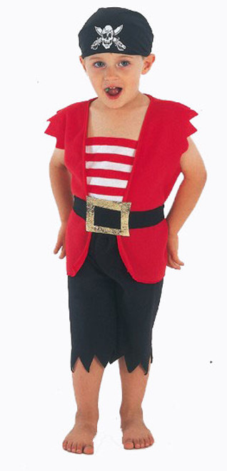 Pirate Boy Toddler Costume