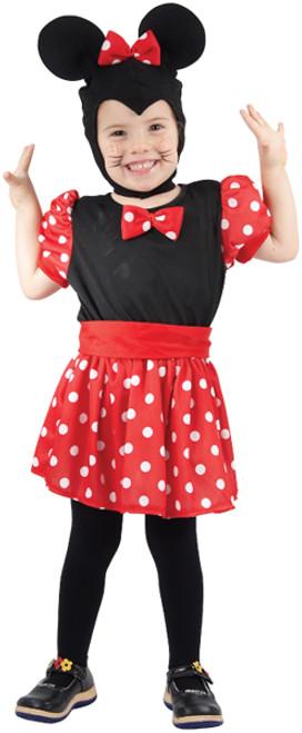 Toddler Mouse Girl 3yrs