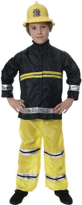 Fireman Child Costume-Medium