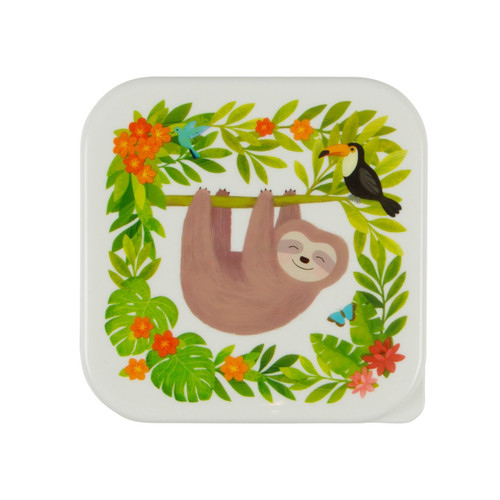 Sass & Belle Sloth and Friends Lunchbox