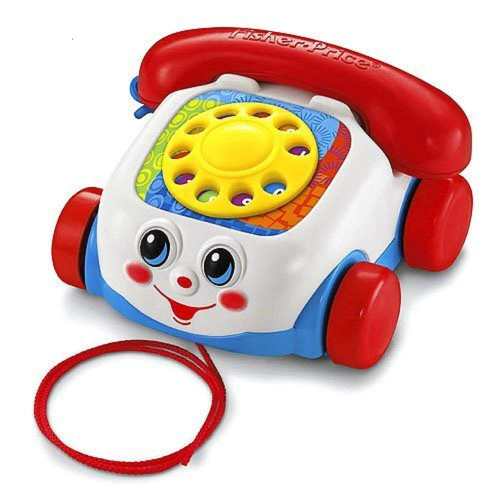 Fisher Price Baby Toy - Chatter Classic Toddler Pull Along Telephone