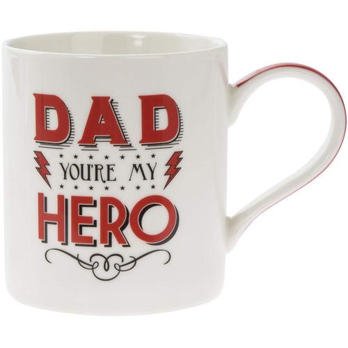 'Dad You're My Hero Mug' Cup