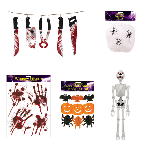 Pack of Halloween Decorations