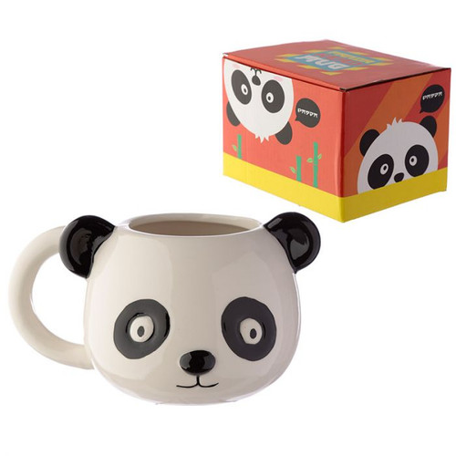 Cutiemals Ceramic Panda Head Shaped Mug