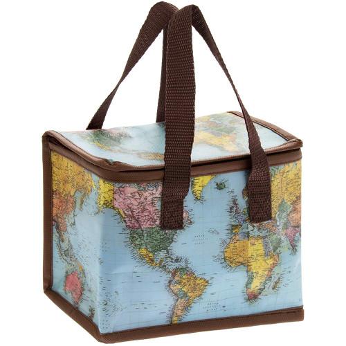 World Traveller Lunch Bag, muli-Colour, 22 x 12 cm