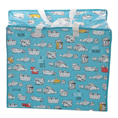 Simon's Cat Laundry Bag