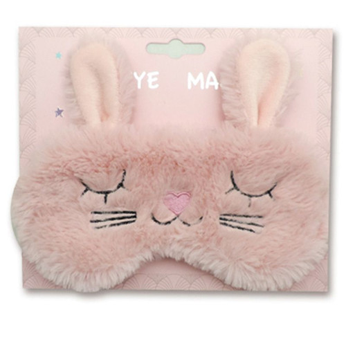 Plush Bunny Rabbit Eye Mask