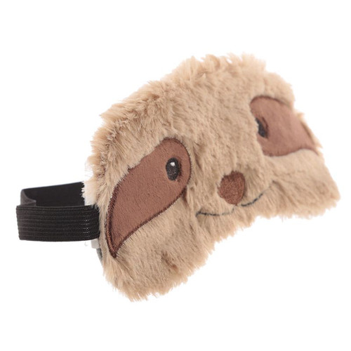 Sleepy Sloth Plush Eye Mask