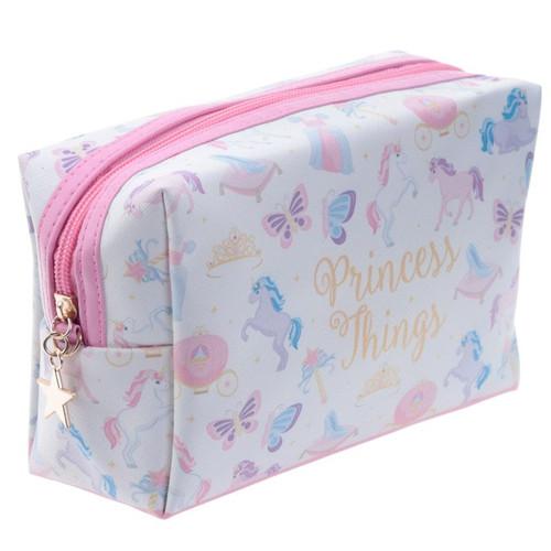 Princess Things Unicorn Toilette Makeup PVC Wash Bag
