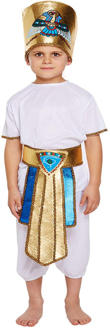 Egyptian Pharaoh King Costume for Children
