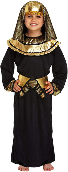 Egyptian Pharaoh Black Fancy Dress Costume