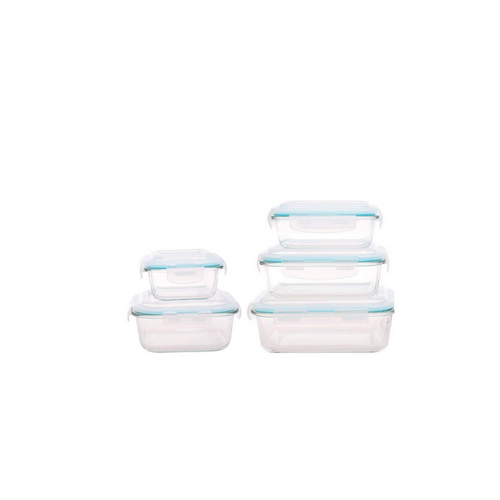 Glass Storage Box with lid