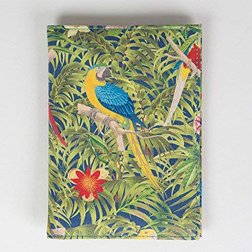 Parrot paradise PVC Passport and Card Holder - Travel Accessory